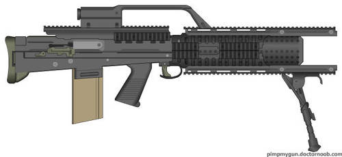 my railgun by headlessknight