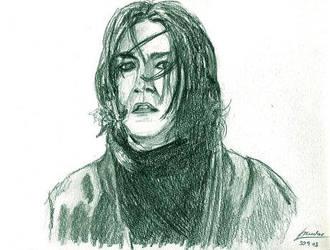 Severus Snape by SzandorDuBois