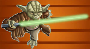 Master Yoda by psychoheat