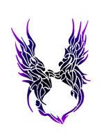 NeoTotem: Dragon Siblings by AeWolf