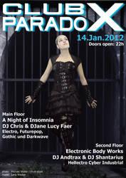 Flyer: Paradox January 2012 by AeWolf