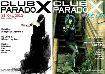 Flyer: Paradox OCT 2012 by AeWolf