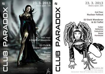 Flyer  Paradox2 2013 MAR by AeWolf