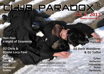 Flyer Paradox2 2013 MAY by AeWolf