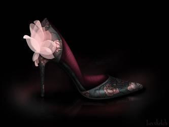 Aurora's Shoe - Disney Sole by becsketch