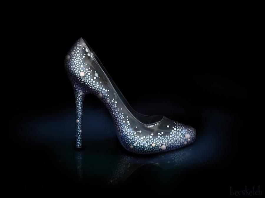 Cinderella's Shoe - Disney Sole by becsketch