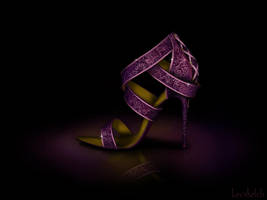 Rapunzel's Shoe - Disney Sole by becsketch
