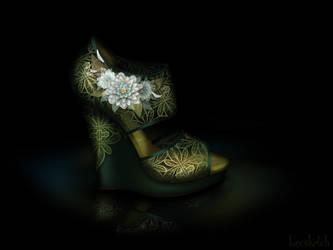 Tiana's Shoe - Disney Sole by becsketch