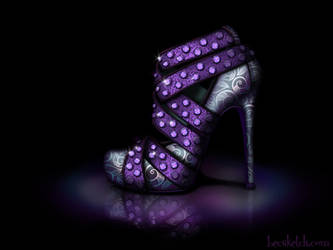Ursula Inspired Shoe - Disney Sole by becsketch