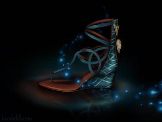 Merida Inspired Shoe - Disney Sole by becsketch