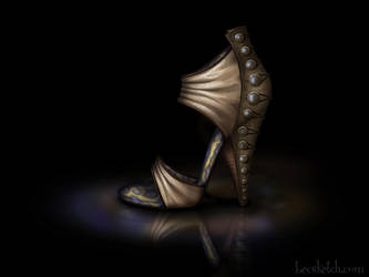 Jane Inspired Shoe - Disney Sole by becsketch