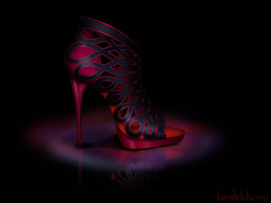 Mother Gothel Inspired Shoe - Disney Sole by becsketch