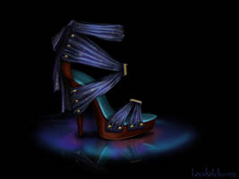 Esmeralda Inspired Shoe - Disney Sole by becsketch