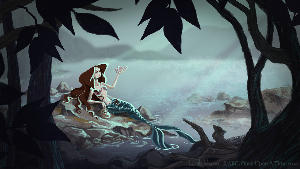 OUAT - The Tale of Ariel by becsketch