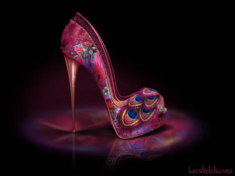 Charlotte Inspired Shoe - Disney Sole by becsketch