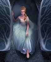 Cinderella Arrives by becsketch