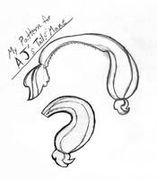 pattern for AJ's Tail and Mane by haiban
