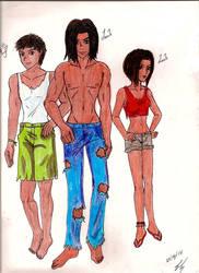 Seth, Jacob y Leah by SevPrince