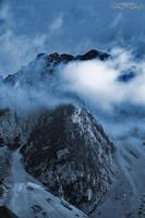 mountain peak by Wintertale-eu