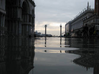 St Mark's Square Flooded by apocathary