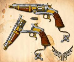 Gladius Dei: Guns of Faith by Dalilean