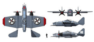 Gabriel's Lance Bomber by Dalilean