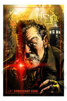 John Hurt Doctor! Who?! by StrutzArt