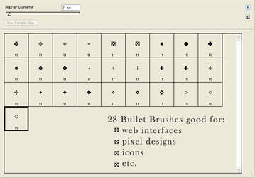 28 Pixel Bullets by praisehim