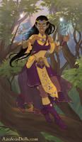 Dii'ya Valkyrie adventuring by DarthSithari