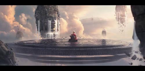 Meditation by SkoldArt