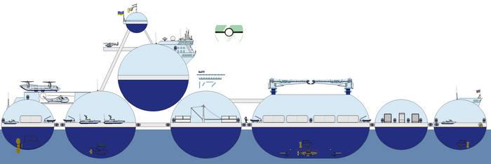 severus SR-1 research ship - Ocillious by gummy-gundam