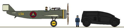 Dannetsink EF-2 early fighter by gummy-gundam
