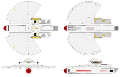 USS Asunder NCC-7900 by gummy-gundam