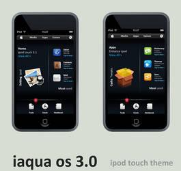 iaqua OS 3.0 ipod touch theme by 6mik-design