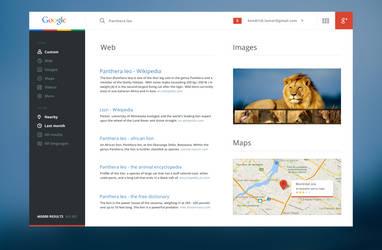Google redesign by 6mik-design