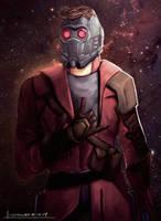 Star-Lord by geekyglassesartist