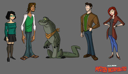 All-New Mystery Incorporated Pt.1 by MarcellSalek-26