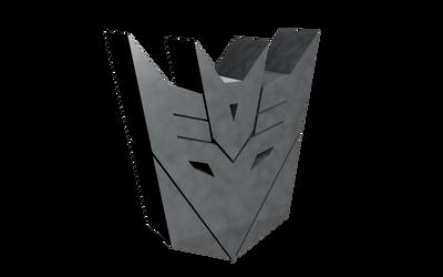 DECEPTICON Logo Transparent V1 by PlaviDemon
