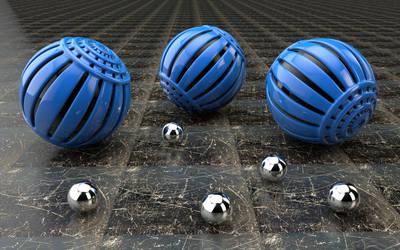 Spheres by PlaviDemon