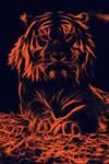 Tiger by PlaviDemon
