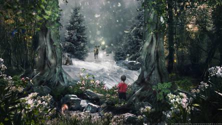 Magic Winter by PlaviDemon