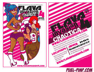 Flava Invasion Flyer by I-Like-It-Juicy