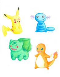 The Pokemon Project - 1 by RangerLenara