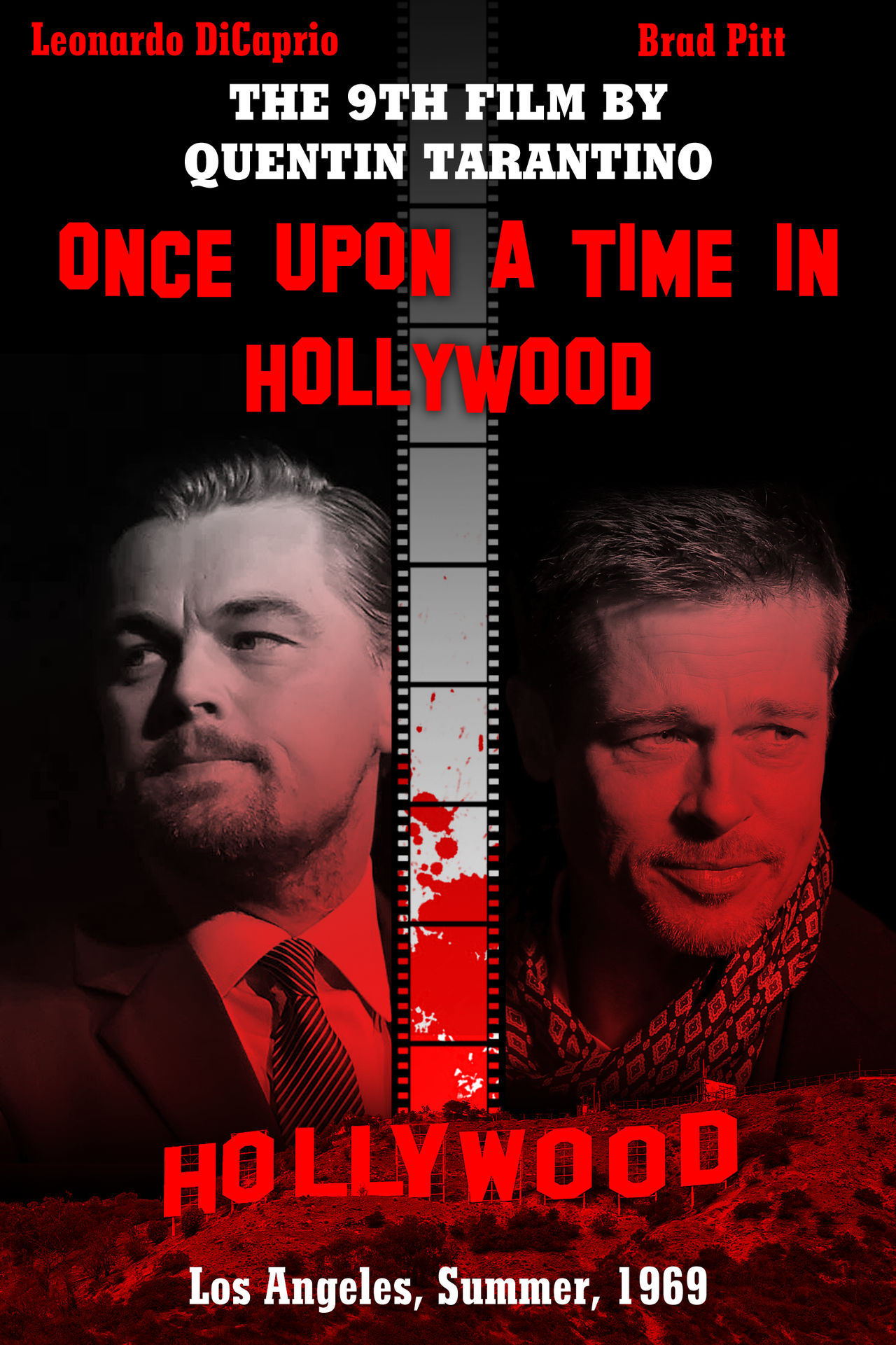 Once Upon a Time in Hollywood fan-poster by Nicksplosivez