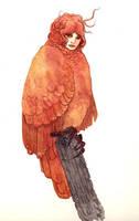 Hallow Owl Hydra by bluealaris
