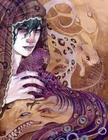 Symone Splash Page by bluealaris
