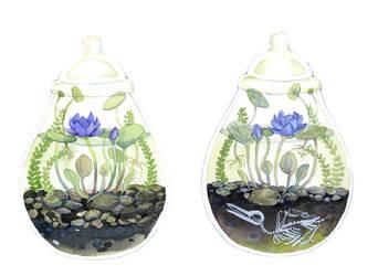 Water Terrarium by bluealaris