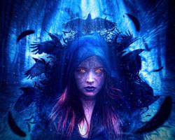 Crow Lady by raiGfx08