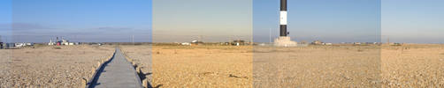 panoramic view of dungeness by ralamantis