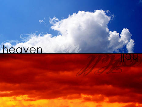 heaven and hell by ralamantis